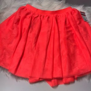 🎈Cat & jack hot pink girls skirt